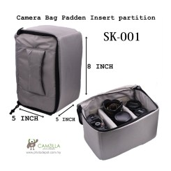 Camera bag padden insert partition SK-001