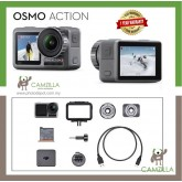 DJI Osmo Action 4K Camera with accessories (ONE YEAR WARRANTY FROM DJI)