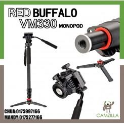 RED BUFFALO VM330 MONOPOD WITH Fluid Head