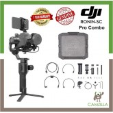 DJI Ronin-SC PRO COMBO 3-Axis Stabilizer Handheld Gimbal for Mirrorless Camera