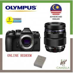 Olympus OM-D E-M1 Mark II Mirrorless Micro Four Thirds Digital Camera + Olympus M. Zuiko Digital ED 12-40mm f/2.8 PRO Lens