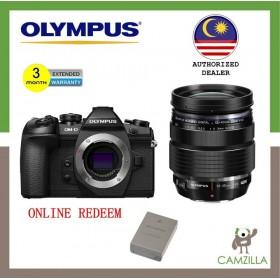 Olympus OM-D E-M1 Mark II Mirrorless Micro Four Thirds Digital Camera + Olympus M. Zuiko Digital ED 12-40mm f/2.8 PRO Lens