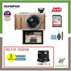Olympus Pen E-PL9 / EPL9 + SD 32GB Memory Card+ Screen Protector +Cleaning Kit Set + (Original Olympus Warranty)