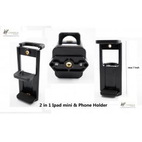 Phone Holder 2 in 1 Ipad mini & Phone Holder