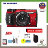 Olympus Stylus Tough TG-5 / TG5 + 16GB + Cleaning kit (Original warranty malaysia)