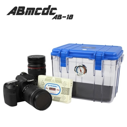 Abmcdc Ab 18 Waterproof Seal Dry Box For Dslr Camera Blue