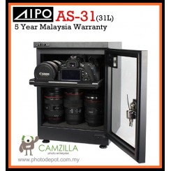 AIPO AS-31 AS31 Dry Cabinet Dry Box (31L) - 5 Year Warranty