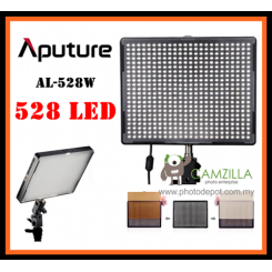 Aputure Portable AL-528W LED Adjustable Video Camera Light For DSLR Camcorder