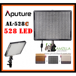Aputure Portable AL-528C LED Adjustable Video Camera Light For DSLR Camcorder