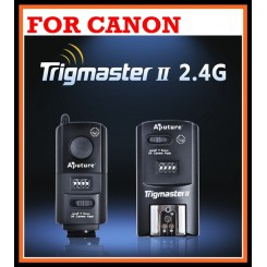 Pro Aputure TrigMaster II Versatile Wireless Falsh Trigger MXII-C for Canon Dslr