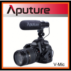 Aputure V-Mic D1 Directional Condenser Shotgun Microphone For Video Camcorder & DSLR