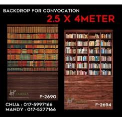Convo backdrop 2.5*4 meters