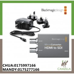 Blackmagic Micro Converted HDMI TO SDI INCLUDES AC SUPPLY