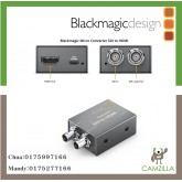 Blackmagic Micro Converted sdi to HDMI