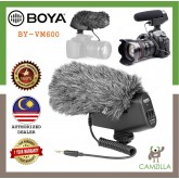 BOYA BY-VM600 Cardioid Directional Condenser Microphone