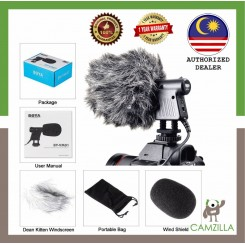 BOYA BY-VM01 Directional Video Condenser Microphone for DSLR Camera