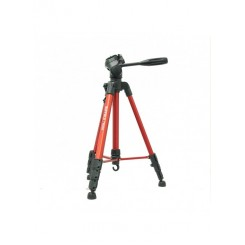 Buffalo Tr-500 Tripod For DSLR Camera And Cam Digital-RED