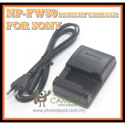 3 Party NP-FW50 NPFW50 Battery Charger for Sony NEX-3C NEX-5 5D A33 A35 A55 A37