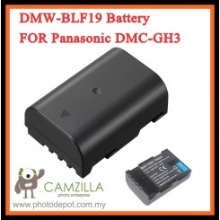 1860mah DMW-BLF19 Battery FOR Panasonic DMC-GH3 BLF19E Cameras