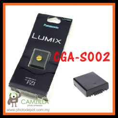 CGR-S002E CGA-S002E S002 S002E Battery For Panasonic DMW-BM7 FZ1 FZ3