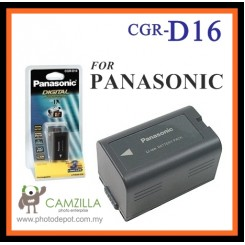 CGR-D16S CGRD16S Battery for Panasonic CGP-D210 CGA-D54SE