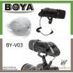 BOYA BY-V03 STEREO BIDEO MICROPHONE