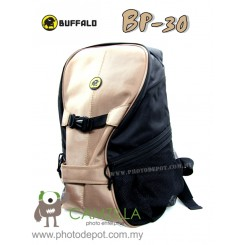 Buffalo BP-30 Professional Camera Bag Backpack - Coffee Color For Canon Nikon Sony Olympus Fuji