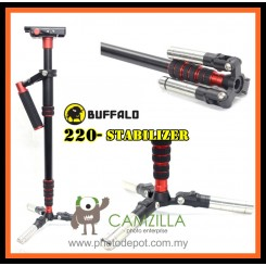 Buffalo-220 Multi-Functional Speed Flycam Stabilizer - Monopod Function
