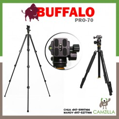 RED BUFFALO PRO 70 PROFESIONAL CAMERA TRIPOD