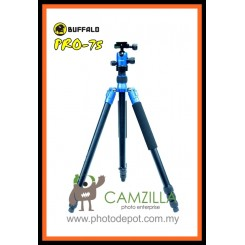 Buffalo Pro-75 Multi-function Tripod / Monopod - BLUE