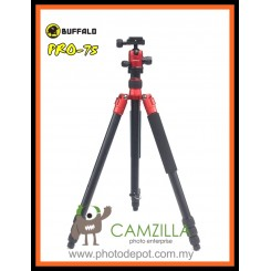 Buffalo Pro-75 Multi-function Tripod / Monopod - RED