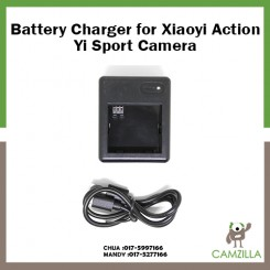 Battery Charger for XiaoMi Xiaoyi Action Yi Sport Camera