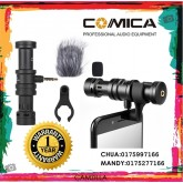 COMICA DIRECTIONAL CONDENSER SHOTGUN VIDEO MICROPHONE SMARTPHONE CVM-VS08