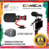 COMICA MICRO COMPACT DIRECTIONAL CONDENSER SHOTGUN VIDEO MICROPHONE CVM-VM10 II