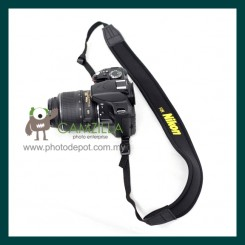 Black Neoprene Neck Strap for Canon , Nikon , Sony 【NK-2】