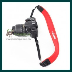 Red Neoprene Neck Strap for Canon , Nikon , Sony 【SR-CR1】