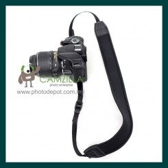 Black Neoprene Neck Strap for Canon , Nikon , Sony 【SU-1】