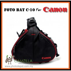 CAMZILLA CZL-C10 FOTO BAT DSLR CAMERA BAG FOR CANON