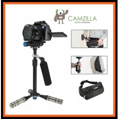 Camzilla DSL-05 Handheld Foldable Video Stabilizer Flycam for DSLR Camera