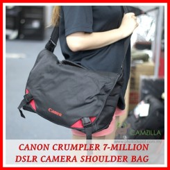 CANON CRUMPLER 7MILLION DSLR CAMERA SHOULDER BAG