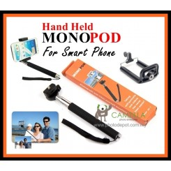 Camzilla Hand Held Monopod For Digital Camera & SCutmartphone iPhone Samsung Note 3