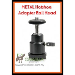 Camzilla Hot Shoe Ball Head Flash Mount Holder Bracket