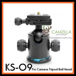 Camzilla KS-09 Pro Camera Universal Tripod Ball Head - Maximum load 8kg