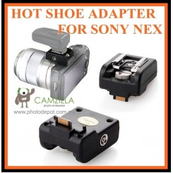 CAMZILLA Hot Shoe hotshoe Adaptor for Sony NEX 3 NEX 5 NEX 5N NEX 3N NEX 5R Camera