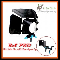 RS PRO Digital Matte Box For Video and DSLR Camera Rigs and Cages