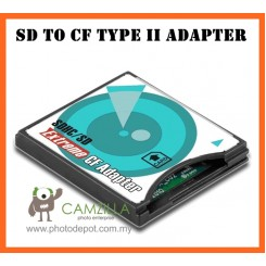 Camzilla Extreme SDXC / SD HC/ SD Memory card to UDMA CF High Speed adapter