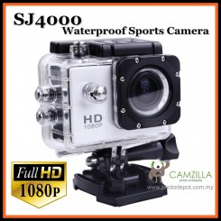 Camzilla SJ4000 GoPro Xbase Full HD 1080p Waterproof Sports Camera