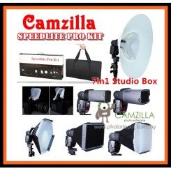 CAMZILLA SPEEDLIGHT PRO KIT 7in1 Box Pro Set
