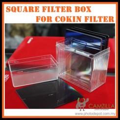 Camzilla Plastic Filter Box for 10pcs Cokin P Series Filters /Square/ filter box