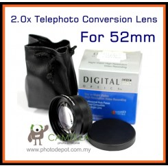Camzilla 2.0x Telephoto Conversion Lens - 52mm